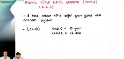 Kimya | Mol Kavramı - 5
