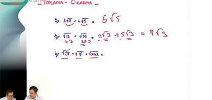 Matematik | Köklü ifadeler - 1