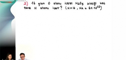 Kimya | Mol Kavramı - 4