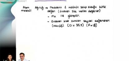 Kimya | Mol Kavramı - 3