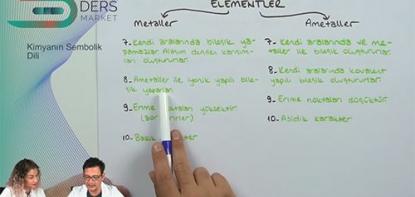 Kimya | Kimyanın Sembolik Dili | Konu Anlatımı