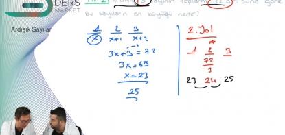 Matematik | Ardışık Sayılar