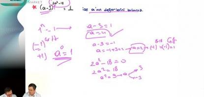 Matematik | Üslü İfadeler Soru Çözümü
