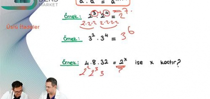 Matematik | Üslü İfadeler - 1